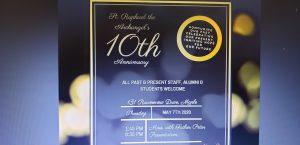 SRA's 10th Anniversary – POSTPONED